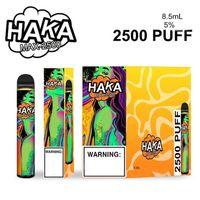 100% Original HAKA MAX dispositivo di pod monouso 2500 sbuffi da 8,5 ml premilled vape stick bar penna starter kit Pod System VS XXL Genuine