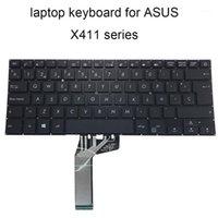 Tastiere di ricambio per laptop per Asus VivoBook X411 UA X 411 x411UQ UF SP Spagnolo ES La Laptop Tastiera tastiera ASM17G3 Sell1
