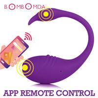 Adulte sexe jouets App vibrateur Bluetooth Bluetooth Remote Dildo Vibromator pour femme Vagina Panies vibrantes portables Jouets pour Couple Sex Shop 201130
