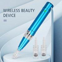 أطقم البنادق الوشم ThunderLord Pen A6 اللاسلكية آلة ماكياج الدائم ل MTS الحاجب الجمال المهنية