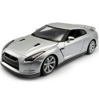 BBURAGO 1:18 2009 GT-R السيارات الرياضية ثابت محاكاة يموت الصب سبيكة نموذج سيارة هدية جمع لعبة هدية