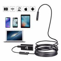 WiFi Android 720P 8mm 1M 2M 5m 7 / 10m Cable Cobra Endoscópio USB Flexível para Borescópio Câmera Endoscopio1