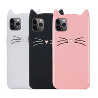 Cat 3D Cartoon Cute Case for IPhone 11 Pro Max X XS MAX XR 8...