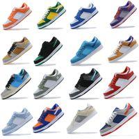 Dunk Chunky Dunky Mens Sneakers Sneakers Chaussures Causales Ours Orange Opti Jaune Vert Bleu Fury Plum Laser Orange Femmes Femmes Sport Formatrice