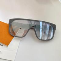 1258 neue Mode-Sonnenbrillen mit UV-Schutz für Männer und Frauen Vintage Square Frame Einteilige Linse Beliebte Top-Qualität