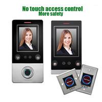Nenhum abridor de porta de toque reconhecimento de face face reconhecimento inteligente abrir o abridor de porta de controle com sensor de impressão digital1