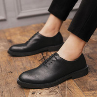 New Big Size 38-47 Brand Leather Men Shoes Spring Oxford Shoes Fashion Casual Designer Male Shoes Leather Moccasins