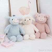 1 шт. 23 см на день рождения плюшевые овечьи игрушка милый мультфильм игрушка ягненка фаршированная кукла мягкая подушка животных подарок маленькие девочки лама ребенка
