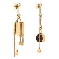 Серьги мода ожерелье браслет из нержавеющей серьги для мужчины женщина высокое качество с коробкой