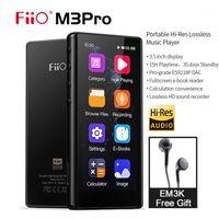 Giocatori MP4 FIIO M3PRO MP3 Player 3.5 pollici Touchscreen Full Touchscreen HiFi senza perdita di musica Sound con registratore vocale ,, Free EM3K headphone1