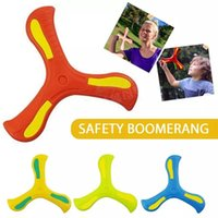 Profesional Boomerang Children's Puzzle Decompression Productos al aire libre Funny Interactive Family Family Throw Catch Toy Sports
