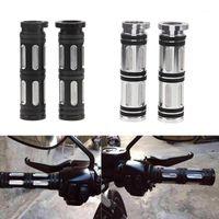 "2 PCS 1 ""25mm Motorcycle Guidebar Grips Motorbike CNC Aperto de mão de alumínio para XL / XR 1996 -2020 Parts1"