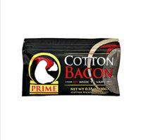 Gold Silber Version Baumwollspeck Prime Bio Pure Cottons Wick Bag für RDA RBA Atomisierer Heizspule Wire Ecig Verdampfer Vape