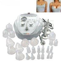 Новые вакуумные приклазочные подъемные машины увеличения груди женщины Женщины Усилители массажа груди всасывая чашки устройства Бесплатная доставка