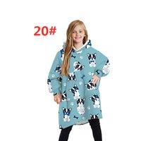 Kid Fleece Hoodies Sweatshirts Long Sleeve Keep Warm Print Comfortable Soft Pullover Home Wear Women Clothes klw5857