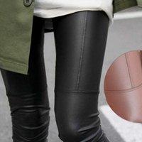 Stretch Fit Noir Summer PU Cuir Shaper Haute taille Leggings Pantalons pour femmes Automne Hiver Pantalon élastique sexy # 25