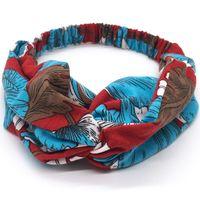 Frauen Seide Stirnbänder Kreuz Top Knoten Elastische Erdbeer Hairbands Weiche Feste Mädchen Haarband Haarschmuck Yoga Twisted Geknotete Headwrap