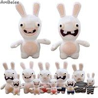 Yaratıcı Bunny Lehman Çılgın Dolması Çocuk Oyuncakları Komik Hayvan Bebek Çığlık Tavşan Hediye 201214