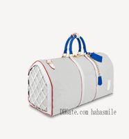 Tim Yeni Basketbol Duffel Çanta Bagaj üzerinde Taşıma Erkek Seyahat Çanta 55 Büyük Kolu KeepAll Çanta Europ Stil 2021