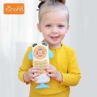 Tumama Baby мобильный телефон ранний образовательный учебный телефон Детские музыкальные игрушки для детского музыкального телефона Y200428