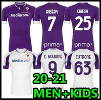 2020 2021 Fiorentina Futbol Formaları Ribery Callejon Prens Pezzella 20 21 Fiorentina Futbol Gömlek Vlahovic Maillot De Ayak Erkekler + Çocuklar