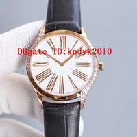 WWF Neue Luxus-Frau-Uhr-Diamant-Frauen-Uhren Schweizer Quarz-Bewegung Sapphire-Kristall 18k Rose Gold Frau Designer-Uhren