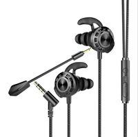 G16 Cascos de auriculares con cable universal para juegos CS Gaming In-Ear auriculares 7.1 Con MIC VOLUMEN CONTROL PC Gamer Auriculares