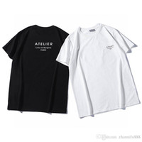 Version New Designers T Shirts Process Priting Tees Handsome Breathable Loose 2020 Casual Mens Short Little Sleeve Bee Terry Cutti Xnlqs