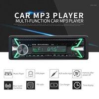 1 DIN 7 Cor Keylight Car MP3 Player Multifuncional Veículo Bluetooth Veículo MP3 Player AUX Stereo FM Rádio USB In-Dash1