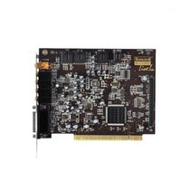 Cartes sonores 5.1K Carte de chanson SB0060 Carte de version plaquée or, ordinateur de bureau PCI Card1