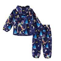 Keaiyouhuo Sport se adapta a los niños conjuntos de ropa para niños para niños Impermeable de manga larga para niños Trajes de niñas Traje impermeable 2 a 6 y LJ201202