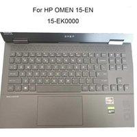 Nuove coperture della tastiera TPU Clear per Omen 15-IT EK 2020 Laptop 15-EN000 EN0013DX 15-EN0023DX 15-EK000 copertura protettiva Anti-Dust1