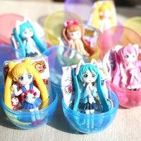 Красивая девушка кукла аниме яичница игрушка 6 смешанная партия принцессы Гашапон горячая продавая игрушка для ребенка