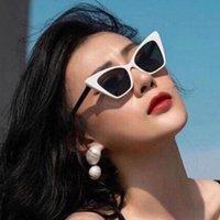 Güneş Gözlüğü Zuidid Beyaz Kedi Gözler kadın Seksi 2021 Moda Trend Gözlük Retro Güneş Gözlükleri UV400 Gölge