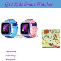 Waterproof Q12 Kids Smart Watches SOS Calling Smartwatch Sup...