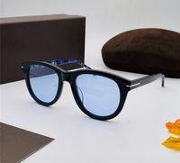 Nouveaux designeurs de mode Hommes et femmes Lunettes de soleil 520-F Cadre ovale 520-F Cadre en vedette Verres Planches Protection anti-UV400 Convient pour l'extérieur
