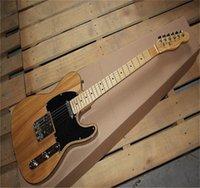 Chitarra elettrica standard di Ameican di colore della natura di alta qualità