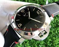 Mens impermeável vs preto caso vs homens preto P9010 mens relógio automático movimento p 1025 Sapphire vidro cosmógrafo esporte relógios de pulso