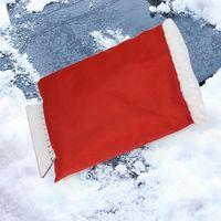 الثلج مزيل قفازات السحرية نافذة الزجاج الأمامي سيارة مكشطة الجليد قفاز الشتاء الدافئ الثلوج مجرفة قفازات أدوات اليد في الهواء الطلق CYZ2923