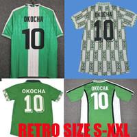 1994 1996 1998 1998 1999 Ретро футбол Джерси Окоча Starboy футбол okechukwu dayo ojo osas okoro классическая футбольная форма maillot de op
