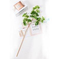 시뮬레이션 은행 나무 잎 꽃 홈 가구 장식 호텔 다양 한 색상으로 지상 세미 수동 꽃 4 5DF J1