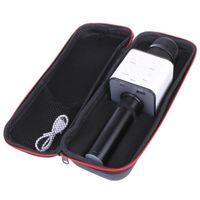 Microfone de karaokê sem fio Bluetooth Faixa de alto-falante Surround Voz Q7 A6he