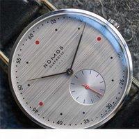 Mode Lässige Marke Nomos Wasserdichte Leder Business Quarzuhr Herren Kleid Uhren Frauen