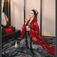 Сцена носить женский традиционный народные элегантные древние Hanfu костюм тан династия принцесса национальная танцевальная одежда костюм восточное платье