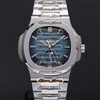 Фаза реальной луны вращается один раз в месяц V9F Nautilus THK-11.3MM 5726 1A-014 CAL.324 S QA LU 24 H Автоматические мужские часы годовые календарь-часы
