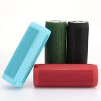 소리 상자 블루투스 스피커 휴대용 ID T2 라우드 스피커 전화 컴퓨터 스테레오 음악 서라운드 방수 옥외 스피커 LED 조명