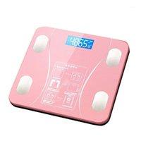 Banheiro Body Body Balança Digital Humano Peso Balança de Piso LCD Display Índice de Corpo Eletrônico Smart Pesando Escalas1