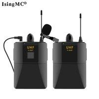 Yeni Tasarım Profesyonel Taşınabilir UHF Gürültü Iptal Kablosuz Lavalier Mikrofon