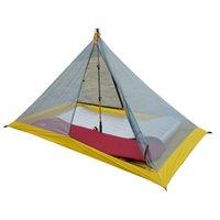 Палатки и укрытия 40D Silnylon 500G сверхлегль Внутренняя палатка на открытом воздухе 3 сезона Осенняя палатка для кемпинга, алюминиевый сплав 42см Удлинитель формы 2
