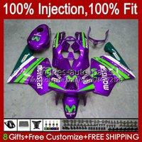 Honda Purple Glossy NSR 250 250R 1994 1995 1996 97 98 99 102HC.188 NSR250R NSR250 R MC28 PGM4 94 95 96 1997 1998 1999 Fairing